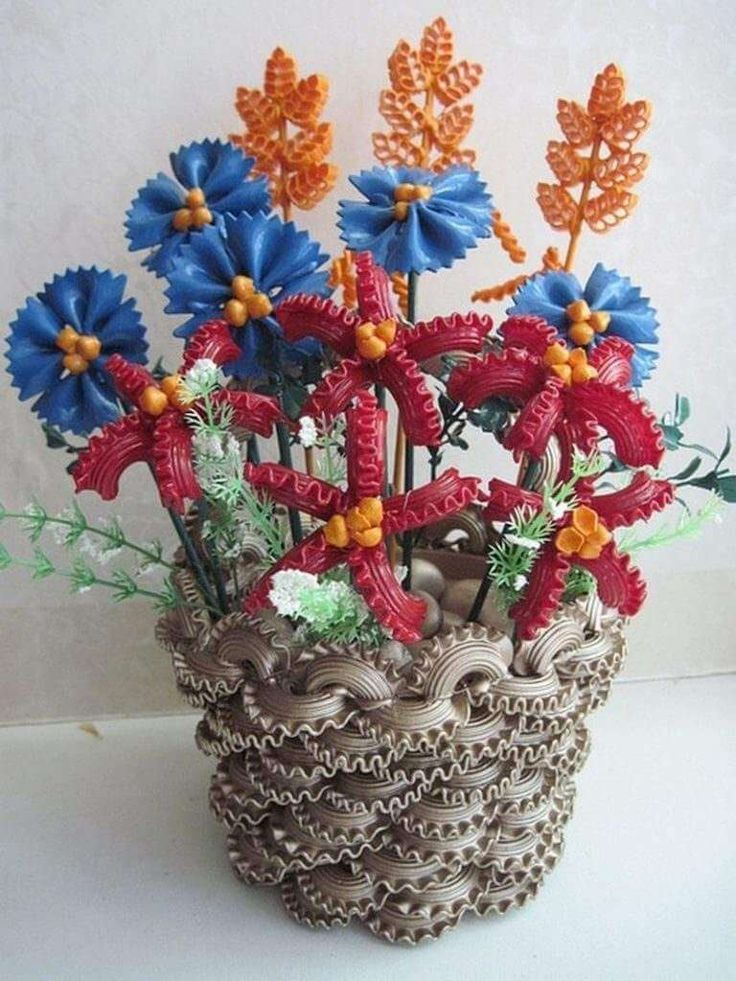 Букет из макарон своими руками, цветов встреча котельнич