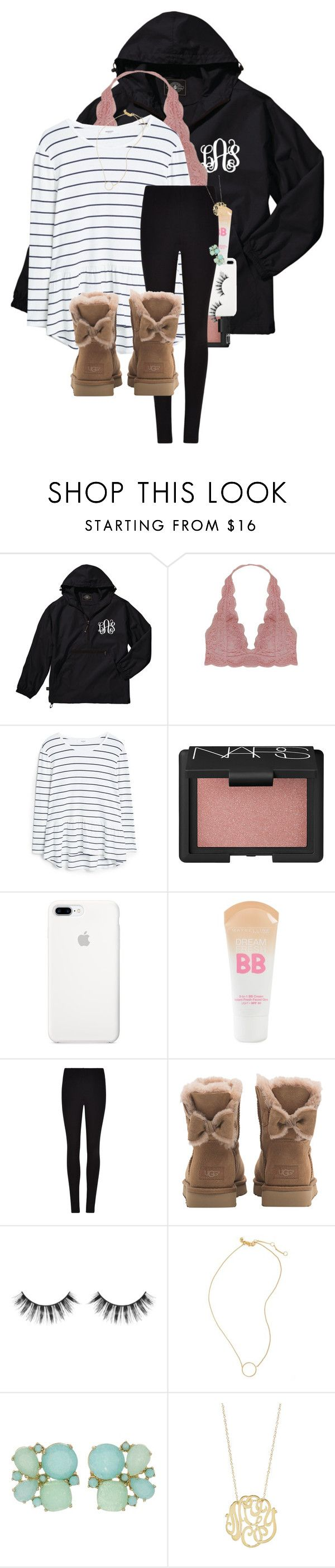 """""""This is us is on tonight!! """" by erinlmarkel ❤ liked on Polyvore featuring Humble Chic, MANGO, NARS Cosmetics, Maybelline, Winser London, UGG, Sephora Collection, Madewell, Kate Spade and Ginette NY"""