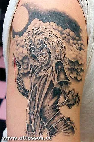 1000 Images About Tattoo Of Eddie From Iron Maiden On Pinterest Posts Back Tattoos And The Head