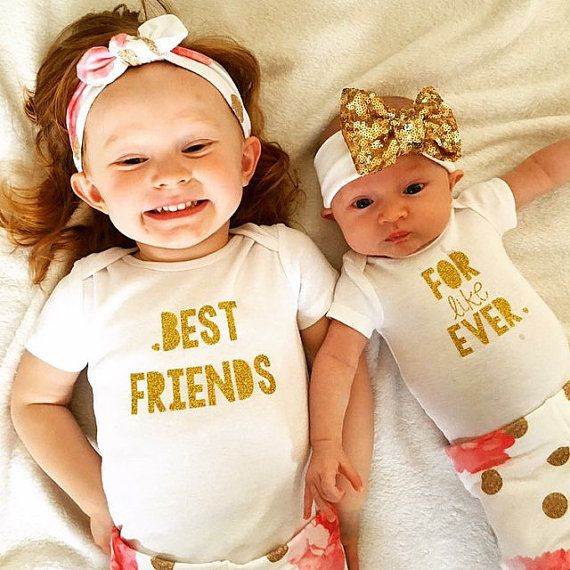 I'm so thankful my daughters will share such a sweet sister bond, I couldn't imagine life without such a special treasure!