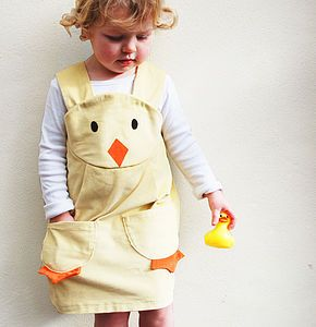 Girl's Easter Chick Dress - toys & games