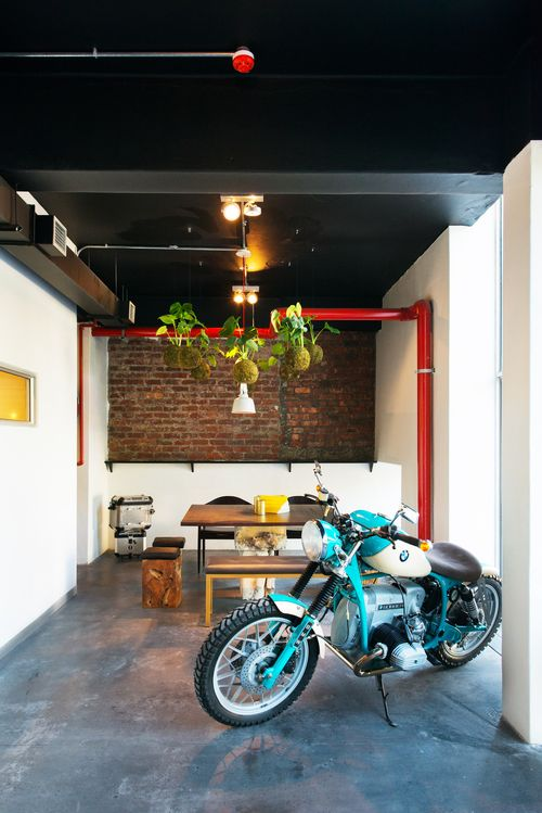 Tribe Coffee BMW #coffee #bikes #CapeTown #city #lifestyle