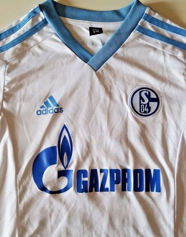 Show your support and appreciation for one of Germany's most popular clubs by donning the FC Schalke 04 16/17 Away S/S Football Shirt, made by adidas for the new season. This short sleeved official replica football shirt of German club FC Schalke 04 retains the popular White and Bold Aqua design from the previous season that fans will no doubt appreciate.   eBay!