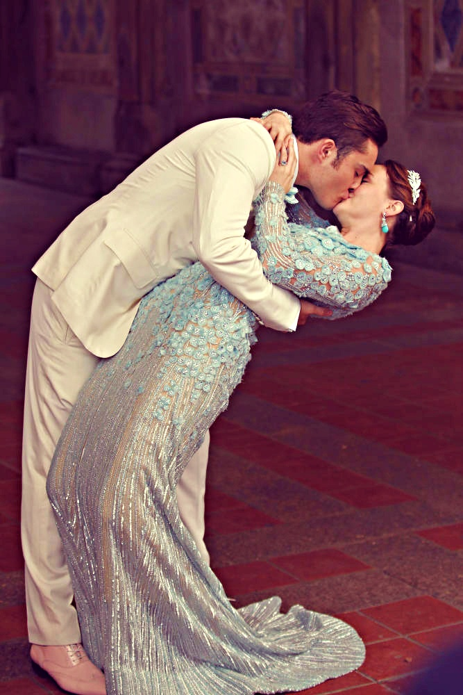 Chuck and Blair's wedding on Gossip Girl