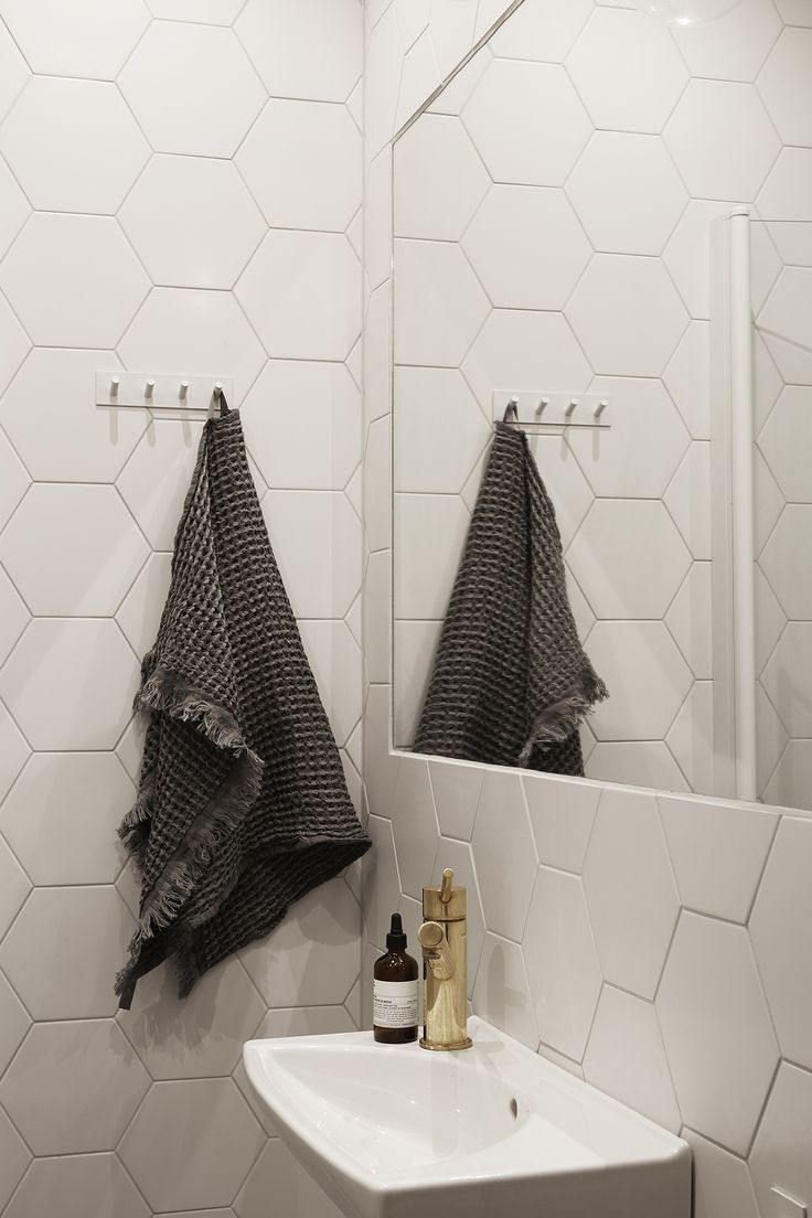 Hexagon. Tile. Bathroom. Fantastic Frank Real Estate.