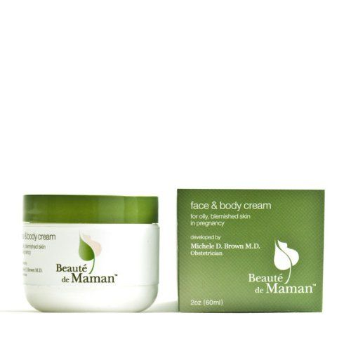 Beaute De Maman Face And Body Cream For Pregnant Women, 2-Ounce Packages