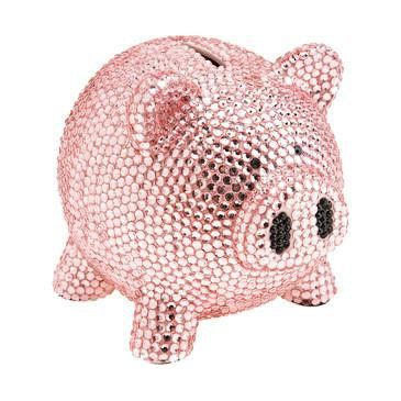 1000 ideas about pink sparkles on pinterest hot pink pink and pink glitter - Rhinestone piggy bank ...