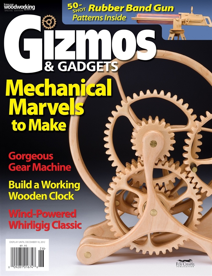 Gizmos & Gadgets - featuring plans for an automaton I designed