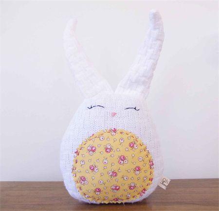 Bunny Rabbit Softie - Nursery Decor, Easter