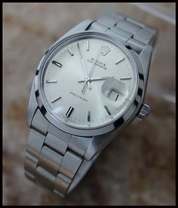 AUTHENTIC VINTAGE MENS SWISS ROLEX 6694 OYSTERDATE PRECISION, c.1970s