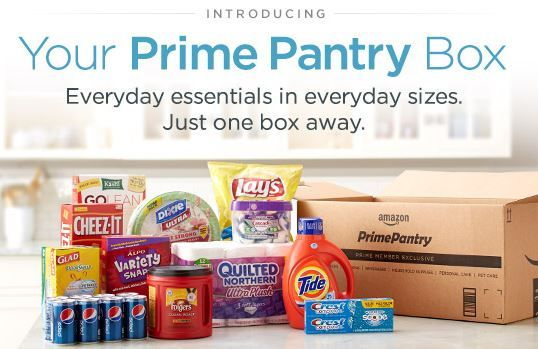 For Prime Members! Right now at Amazon you can actually snag a$5.99 credit toward a Prime Pantry Box!Whenyou purchase a prime eligible product and choos