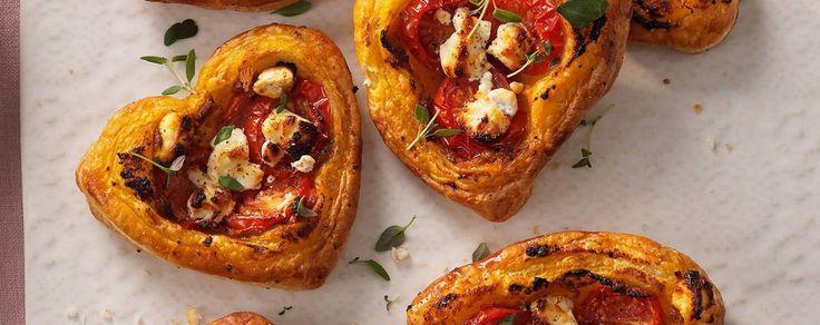 Mediterranean tomato tarts