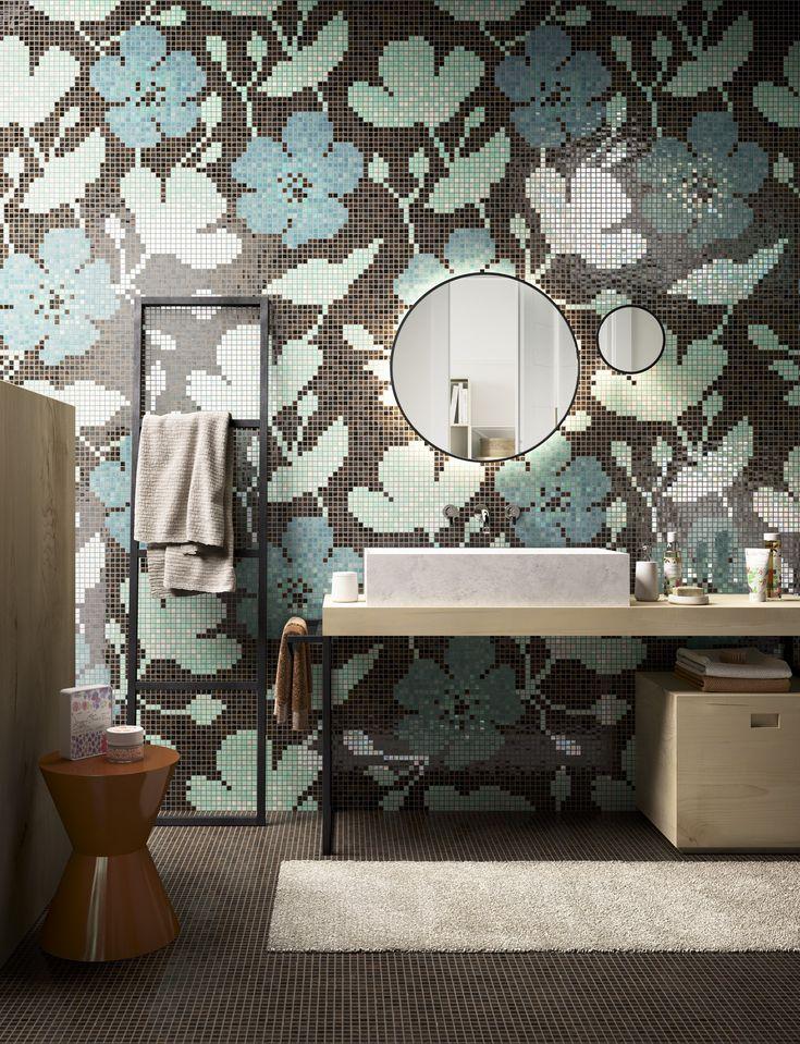 Photo Album Website Glass mosaic SAKURA mosaicopiu Mosaic BathroomDesign