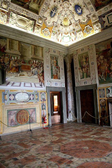 Palazzo Farnese, Caprarola, Lazio, Italy