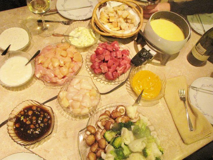 46 Best Images About Fondue Party Ideas On Pinterest