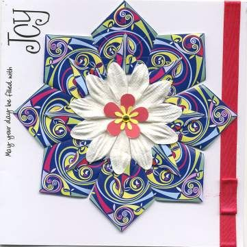 Free Tea Bag Tiles   Card by Claire Cummings - inspired by a card by Lindsey Hopkins ...