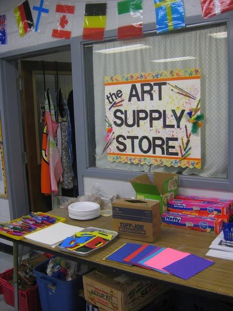 Classroom Management Decor ~ Best art room clean up images on pinterest