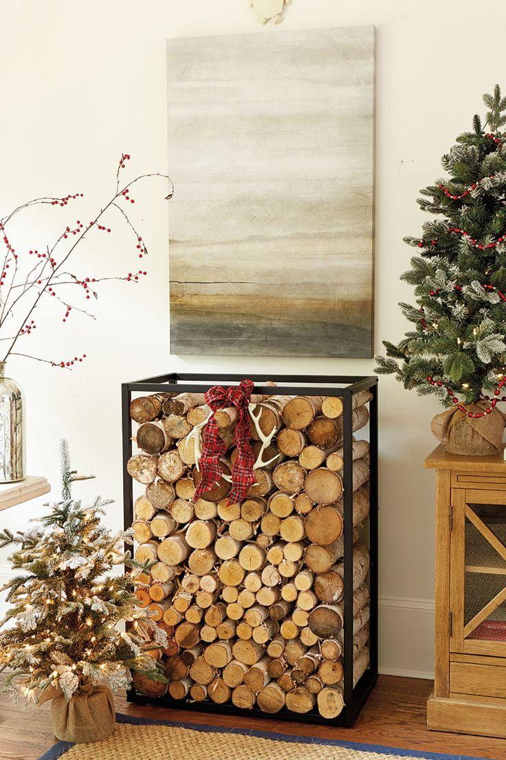 Suzanne Kasler's 2015 Holiday Collection. Firewood HolderFirewood ...