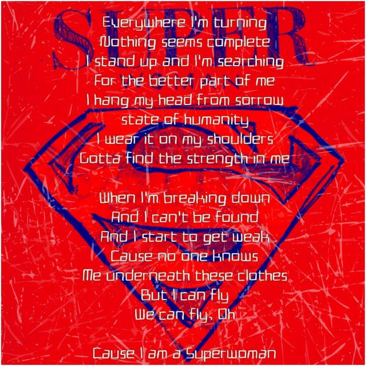 Alicia Keys--Superwoman