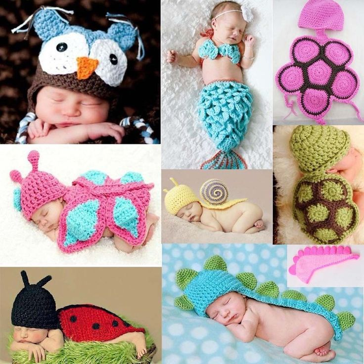$4.79 Owl - Cute Knit Animal Baby Crochet Knit Costume Photography Photo Prop Hat Outfit Lot #NewLook