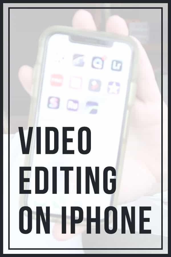 How to Edit Videos on iPhone | Video editing, Editing apps, Youtube editing