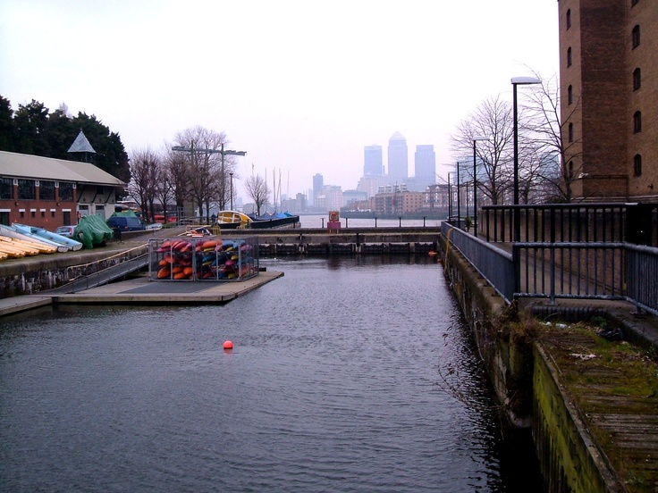 The remaining lock from Shadwell Basin into the Thames