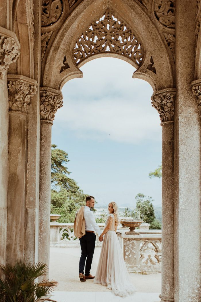You Re Not Dreaming This Epic Sintra Elopement Is 100 Real And 100 Gorgeous Junebug Weddings In 2020 Portugal Wedding Destination Wedding Images Winter Wedding Destinations