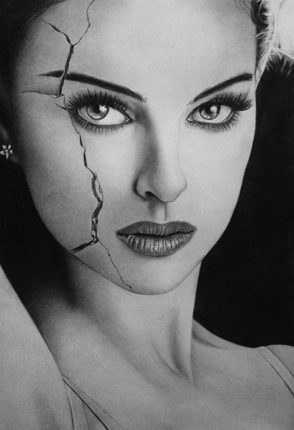 A Woman's Mystery – Illustrations by KLSADAKO | Pencil ...