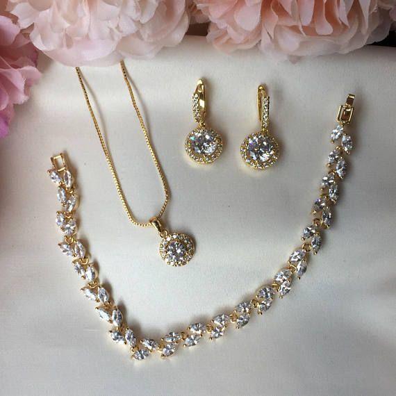 Crystal Wedding Jewellery Bridal Jewellery Bridesmaid Gifts