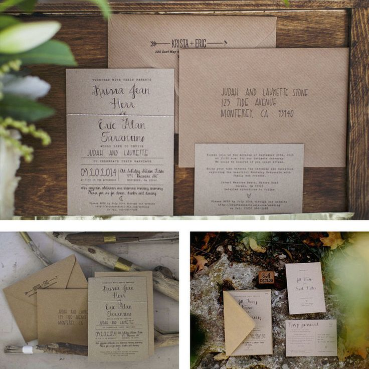 Calligraphy Wedding Invitation Set on Recycled Kraft Card, or save the date magnets. Wedding invitations UK, Wedding invitations Australia by FeelGoodInvites on Etsy https://www.etsy.com/listing/163110846/calligraphy-wedding-invitation-set-on