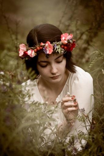 Blumenkranz für's Haar