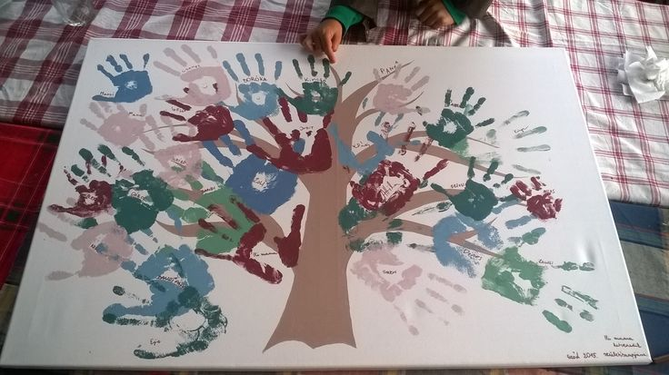 #handprint #art #grandma #70th #birthday #gift #pentart #colors #childrens