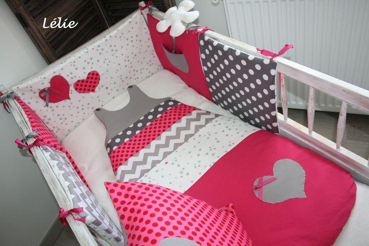 Tour de lit et gigoteuse turbulette 12/24 mois pour bébé : Linge de lit enfants par chez-lelie