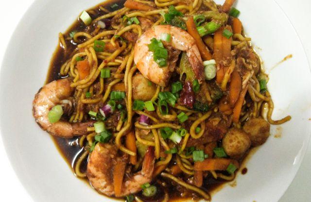 Masak Resepi Mee Goreng Basah Berkuah Sedap Resep Makanan Makanan Resep