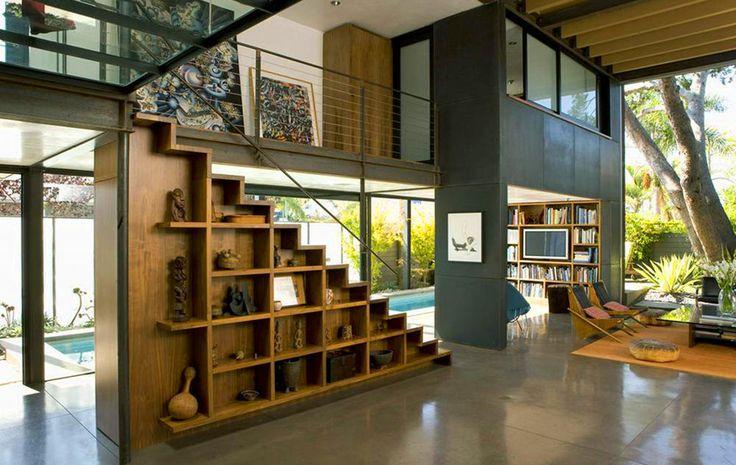 Regał-pod-schodami-700-Palms-Residence-by-Ehrlich-Architects.jpg (1000×632)