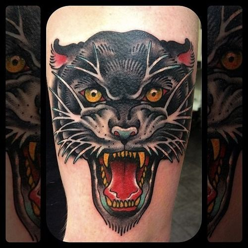 1000 images about tattoo on pinterest panther tattoos for Panther tiger tattoo