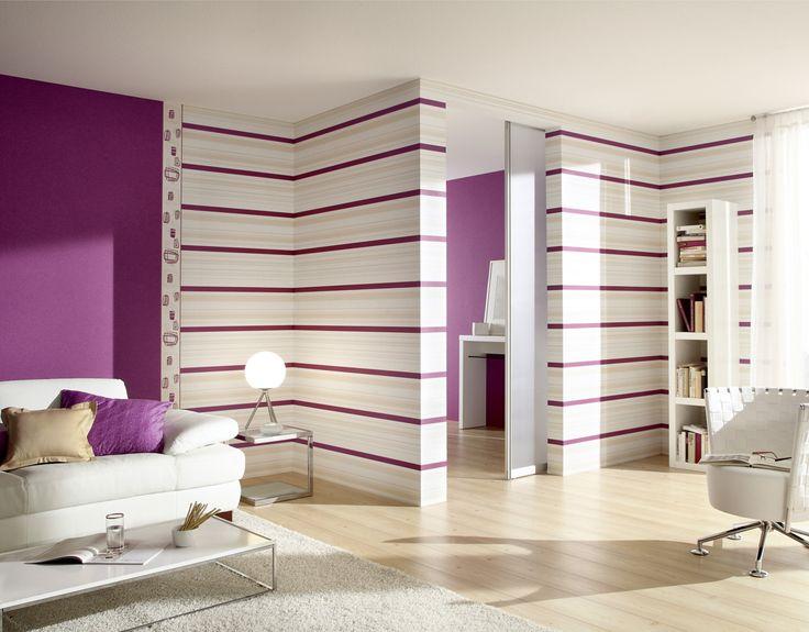 Una excelente idea para decorar de una manera innovadora y con mucho estilo las paredes de tu hogar es con papel de colgadura.