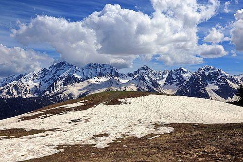 35PHOTO - Никишин Евгений - Май в горах  Кавказ. Красная поляна. Перевал Аишхо-2