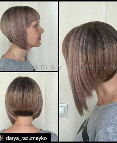 21 Eye-catching A-line Bob Hairstyles