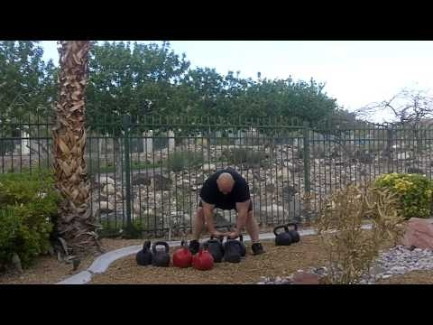 Kettlebell Clean and Press Wave loading workout with Mike Mahler, Bud Jeffries, and Josh Franklin