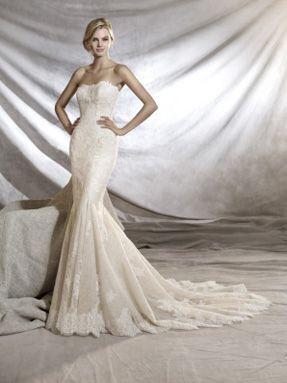 Svatební šaty Pronovias 2017 ve svatebním domě NUANCE. Model Orinoco.