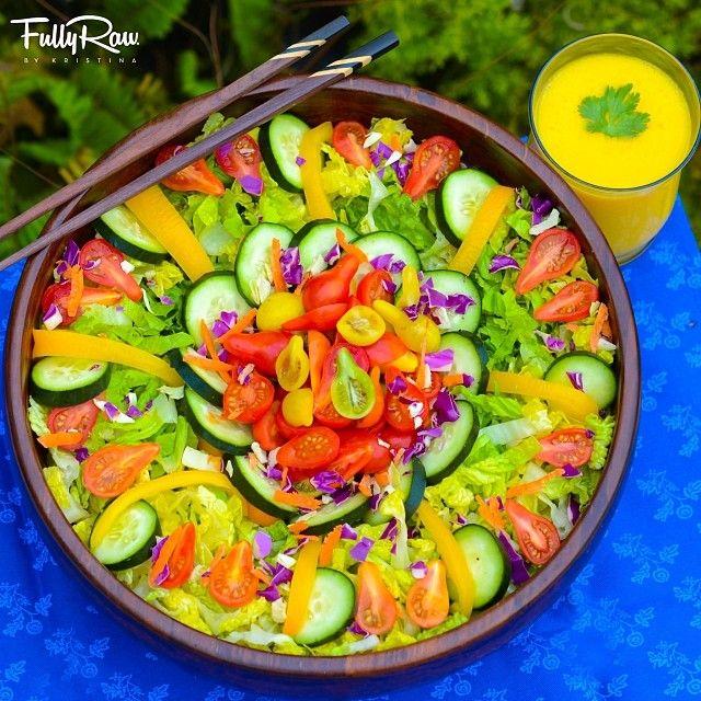 Dynamic Orange Tomato Dressing Video Raw Vegan Recipe: 1000+ Images About Raw Salads On Pinterest