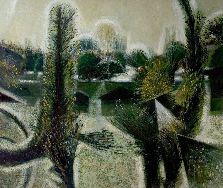 Evening, Just before Spring by Alan Reynolds Nottingham City Museums and Galleries Date painted: 1954 Oil on board, 72.4 x 91.4 cm Collection: Nottingham City Museums and Galleries