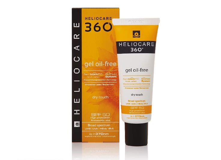 Heliocare 360 Fluid Cream SPF 50+ 50 ml.  The 360ᴼ Revolution provides skin protection against the daily environmental challenges our skin faces and helps prevent the skin-ageing and damage these challenges can cause. It does this at a greater breadth and a higher level than previously possible, with products that have a skin‐loving feel that encourage everyday use and that everyone concerned about skin-ageing and skin-health can incorporate into their daily skincare regime.
