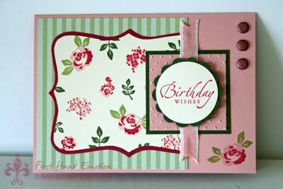 Stampin' UP! Baby Blossoms