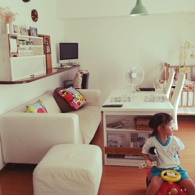 部屋全体 リビング 10畳のインテリア実例