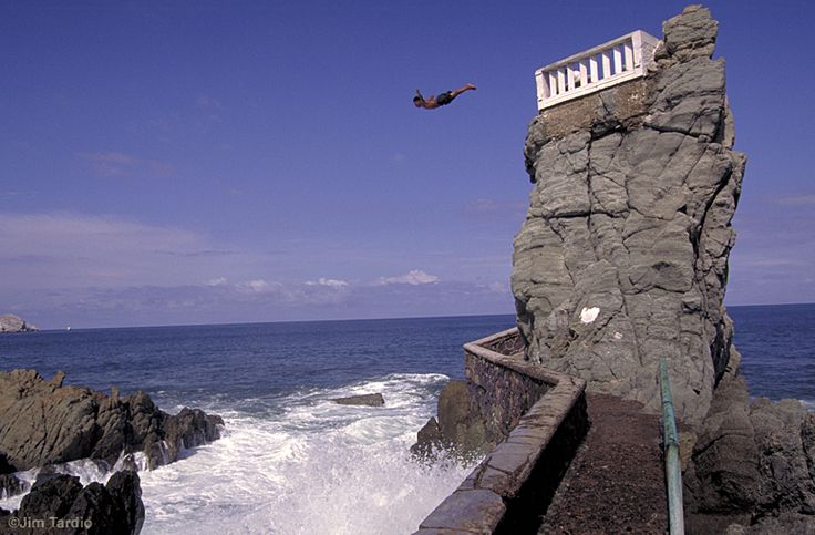 Cliff Diving....Mazatlan, Mexico