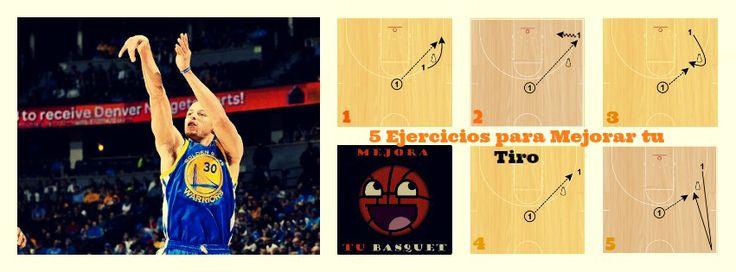 5 ejercicios de tiro que utiliza el NBA Stephen Curry | MEJORA TU BASQUET