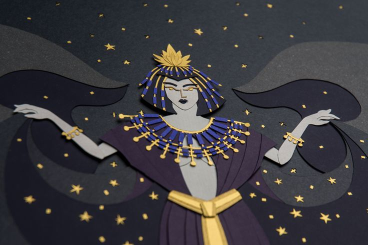 #mebekka #Nut #goddess #sky #stars  #heaven #ancient #Egyptian #religion #nudewoman #Earth #fingers #toes #cardinalpoints #body #illustrated  #art #starfilledsky #mother #gods #papercut #cutoutpaper #paper #illustration