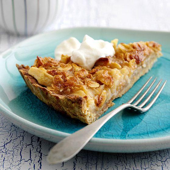 Toscatærte - Opskrift (Recipe in Danish)